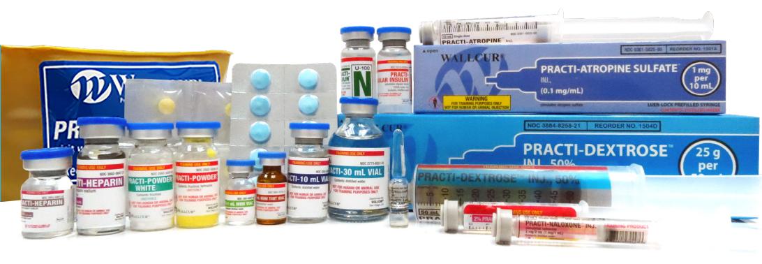 Wallcur Practice Medications