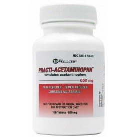 PRACTI-ACETAMINOPHEN 650 MG