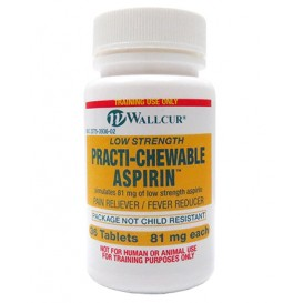 PRACTI-CHEWABLE ASPIRIN 81MG