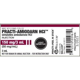 PRACTI-AMIODARN HCI PEEL & STICK LABELS