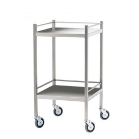 Stainless Steel Trolley 50x50, No drawer