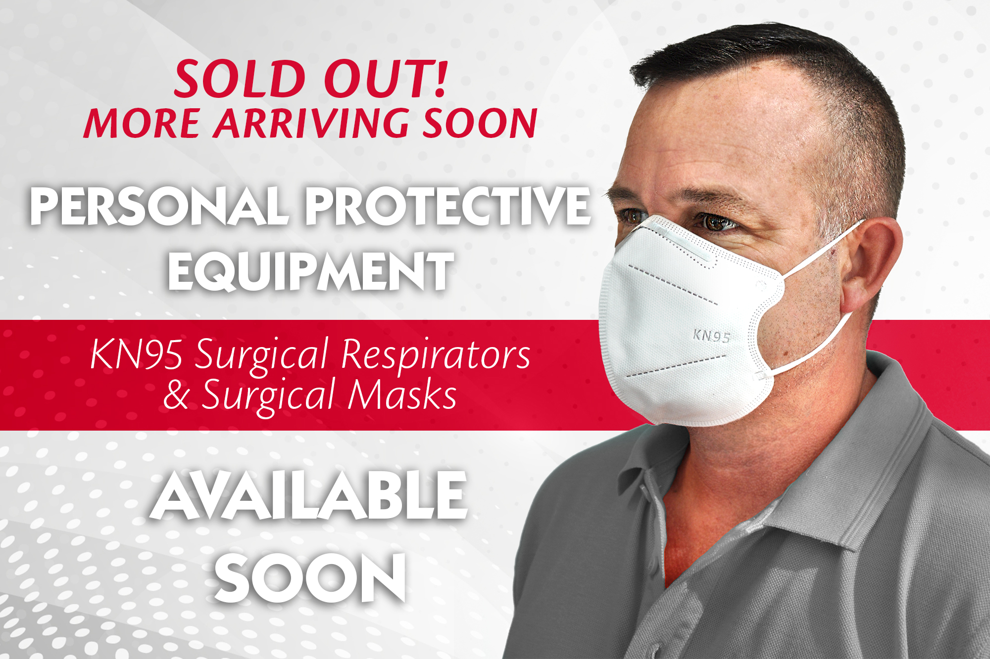 PPE Masks Available Soon