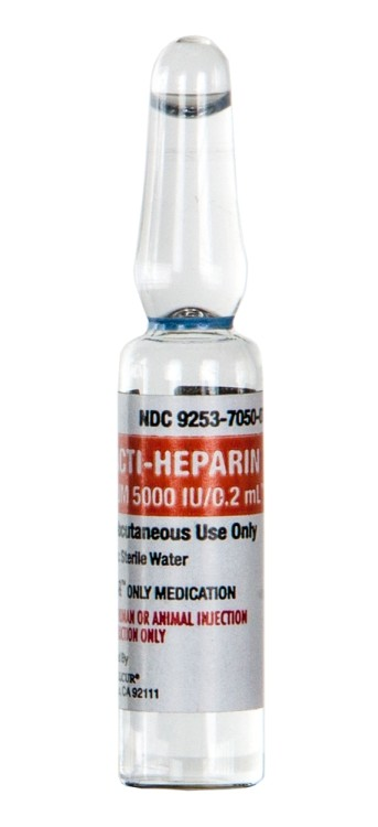 practi heparin sodium ampoule 2ml