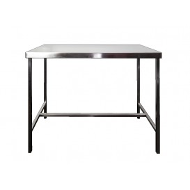 Consult Table, Stainless Steel