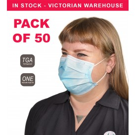 3 Ply Surgical Mask - BOX OF 50