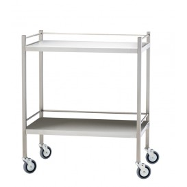 Stainless Steel Trolley 50x80, No drawer